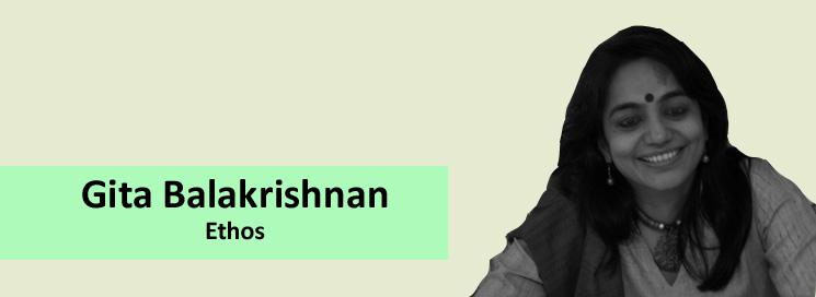Works and profile of Gita Balakrishnan – Ethos