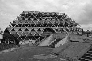 Hall of Nations, New-Delhi / 1971-72 Architect: Raj Rewal Structural Engineer: Mahendra Raj