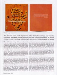 Architecture of Modern India - Christopher Benninger