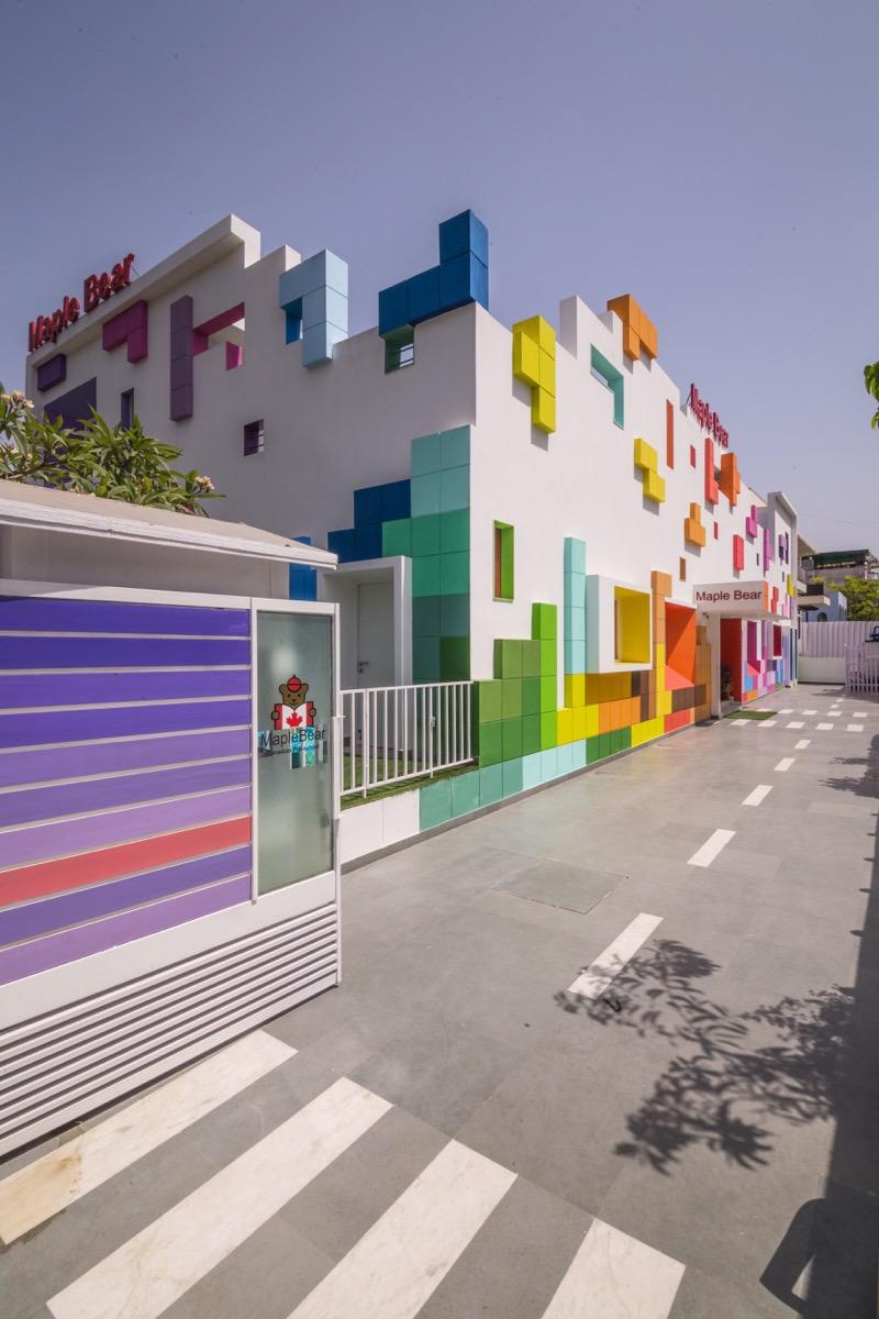 The tetrisception by renesa studio new delhi for Architecture design company in delhi