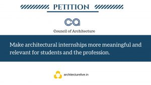 Architectural Internships in India