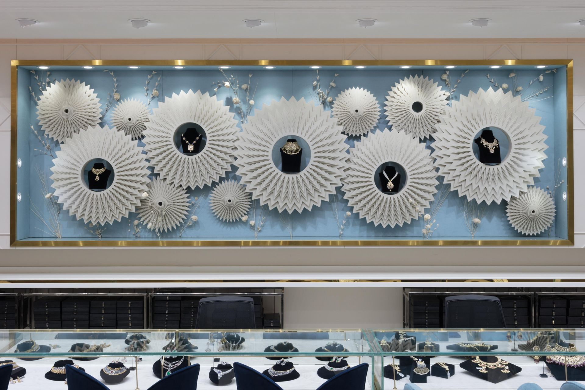 HSJ, a Jewellery Showroom at Lucknow by Ravish Mehra and Deepak Kalra