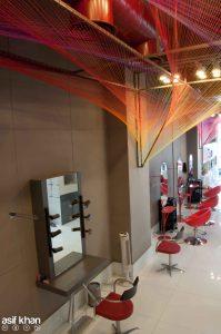 APDS salon at New Delhi by RLDA STUDIO Architects
