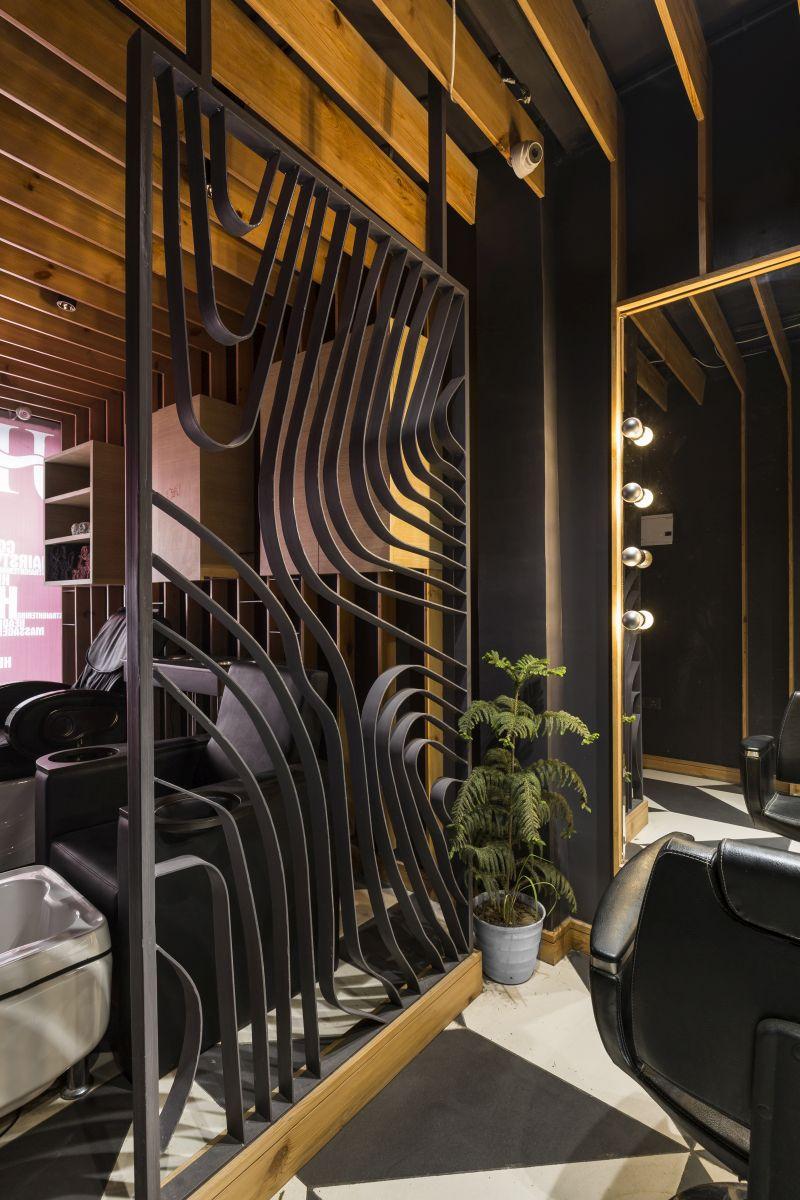 Mukhauta | Jawed Habib Salon, at Mukherjee Nagar, Delhi, by Sync Design Studio 18